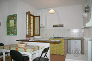 Example of a kitchen in the apartment