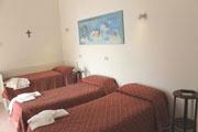 Religiöses Gästehaus in Sorrent: Herrlicher Meerblick auf den Golf von Neapel vom Religiösen Gästehaus La Culla aus in Sorrent