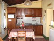Apartment in Montepulciano: The kitchen of Villa Le Viole