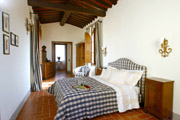 House in Florence Centre: Double bedroom of Lorenzo il Magnifico House in Florence centre