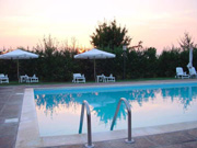 Swimming-pool of the Villa Le Viole