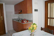 Kitchen of Carla Apartment n.9 in Positano