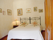 Ferienwohnung Florenz Stadtzentrum: Doppelschlafzimmer der Ferienwohnung De' Castellani
