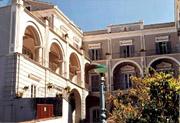 Religiöses Gästehaus in Sorrent: Fassade des Religiösen Gästehaus La Culla in Sorrent