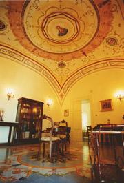 Religiöses Gästehaus in Sorrent: Lesesaal des Religiösen Gästehaus La Culla in Sorrent