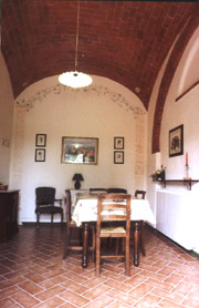 Apartment in Montepulciano: The living-room of Edera apartment in Montepulciano