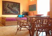Rom Ferienwohnung: Wohnzimmer der Ferienwohnung Filiberto