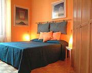 Rom Ferienwohnung: Doppelschlafzimmer der Ferienwohnung Filiberto