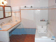 Apartment in Montepulciano: The bathroom of Il Glicine apartment in Montepulciano