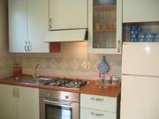 Cucina dell'appartamento di Bucaneve
