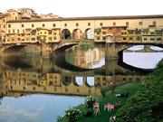 Ferienwohnung Florenz Zentrum: Pontevecchio, nur wenige Schritte von der Ferienwohnung De' Castellani entfernt