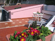 Roof Terrace of the Bucaneve apartment