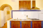 Florence Lodging: Kitchen of Giotto Lodging in Florence