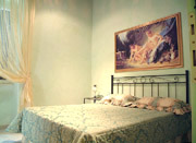 Rome Accommodation: Double bedroom of Tritone Type B Accommodation in Rome