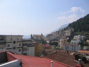 Fantastic view from the Roof terrace of the Bucaneve apartment