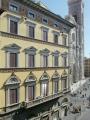 Facade of Palazzo Gamba