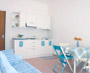 Apartments Sorrento: The living-room with the kitchen-corner of Margherita Apartment in Sorrento