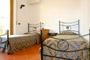 Appartements Florence Italie: Chambre à coucher avec deux lits individuels de l'Appartement Bonciani à Florence Italie