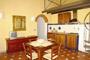 Firenze Vacanze Affitto: Sala da pranzo con cucina dell'Appartamento per vacanza Benozzo a Firenze