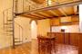 Appartement Location Florence: Salle à manger avec cuisine de l'Appartement Botticelli à Florence