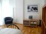 Florence Appartement: Chambre à coucher avec TV de l'Appartement Villani à Florence