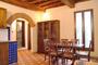 Toscana Vacanza Affitto: Sala da pranzo dell'Appartamento d'affitto Latini a Firenze
