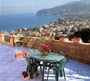 Sorrento Villa: Nice sea view from Ornella Villa in Sorrento