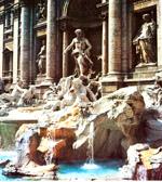 Der Trevi Brunnen