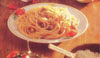 BUCATINI ALL'AMATRICIANA - Pasta - Speciality with meat from Rome