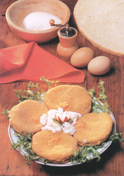 MOZZARELLA IN CARROZZA - Speciality of Naples