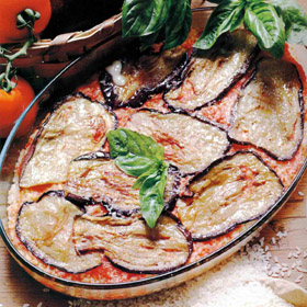 PARMIGIANA WITH EGGPLANTS - Speciality of Naples
